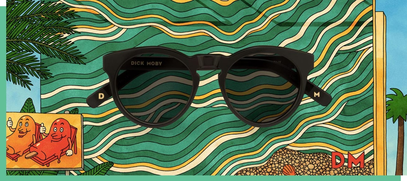 Dick Moby Sunglasses, Photo Cred Dick Moby