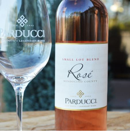 Parducci 2016 Small Lot Rose, Photo Cred Parducci