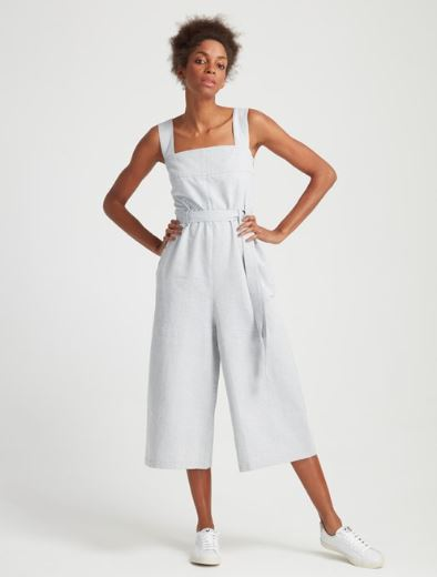 People Tree Alana Jumpsuit in Blue, $121.50, Photo Cred: People Tree