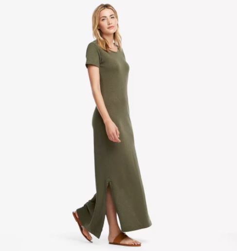 American Giant Premium Maxi T Dress, $69, Photo Cred: American Giant