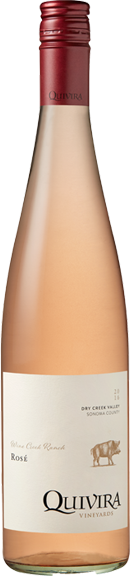 Quivara 2016 Rose, $22, Photo Cred Quivara