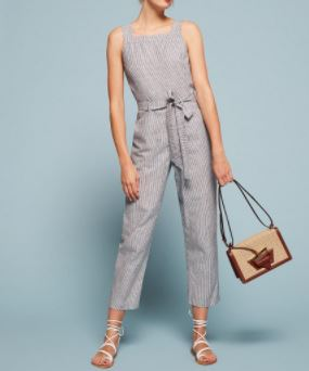 Reformation Clearwater Jumpsuit, $198, Photo Cred: Reformation