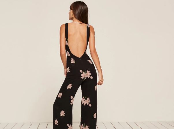 Reformation Darcy Jumpsuit, $248, Photo Cred: Reformation