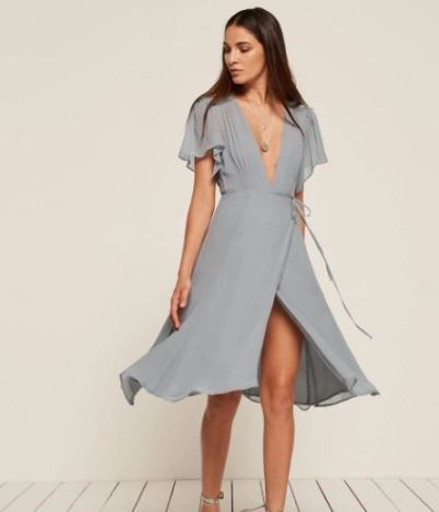 Reformation Frances Dress, $248, Photo Cred: Reformation