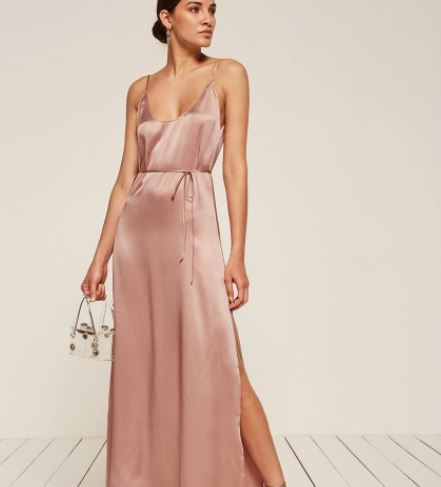 Reformation West Dress, $278, Photo Cred: Reformation