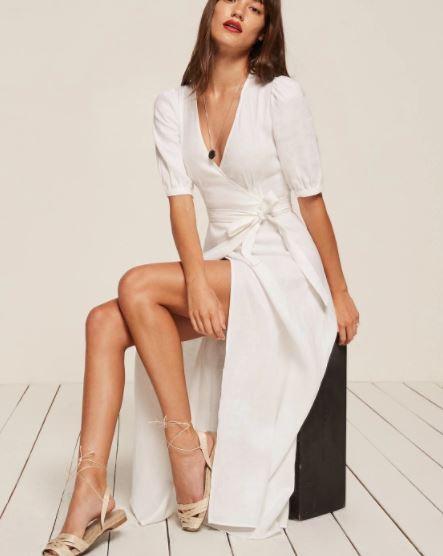 Reformation Mathilde Dress, $218