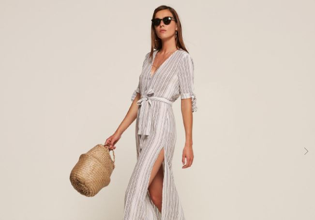 Reformation Safari Dress, $218