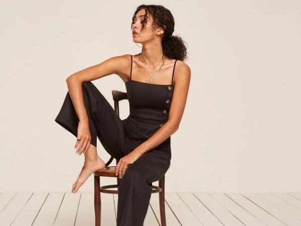 Reformation Torguga Jumpsuit, $218, Photo Cred: Reformation