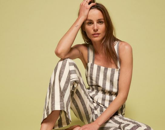Reformation Trace Jumpsuit, $198, Photo Cred: Reformation