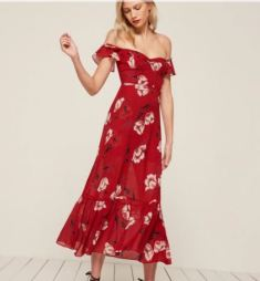 Reformation Tropica Dress, $248, Photo Cred: Reformation