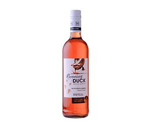 Running Duck No Sulphur Added Rosé from Stellar Organics, Photo Cred Stellar Organics