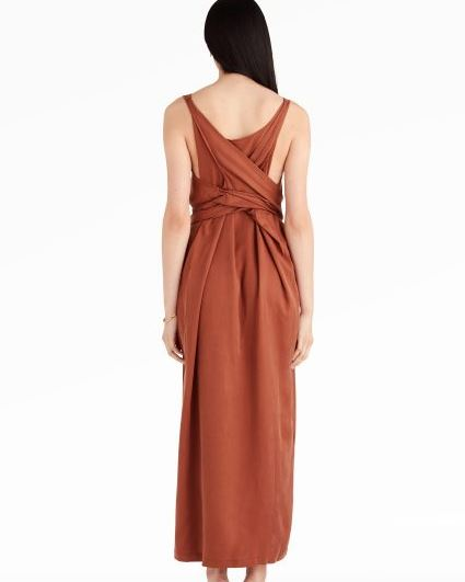 Shaina Mote Tie Dress, $297 from Elborne