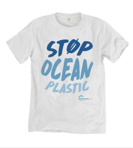 Stop Ocean Plastic T-Shirt, $24.52