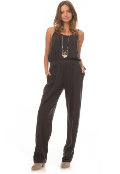 Synergy Clothing Recycled Poly Farrah Jumpsit, $74, Photo Cred: Synergy Clothing