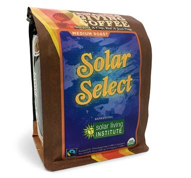 Thanksgiving Coffee Solar Select Medium Roast, Photo Cred Thanksgiving Coffee
