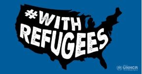 .i stand #WithRefugees.