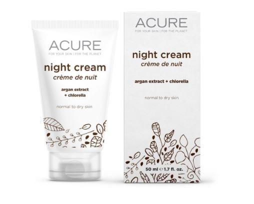 Acure Organics Night Cream Argan Stem Cell + 2% CGF, 1.75 oz, $13.99, Photo Cred Target