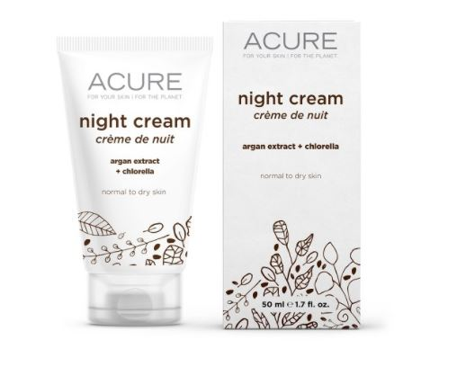 Acure Organics Night Cream Argan Stem Cell + 2% CGF, 1.75 oz, $13.99, Photo Cred Target