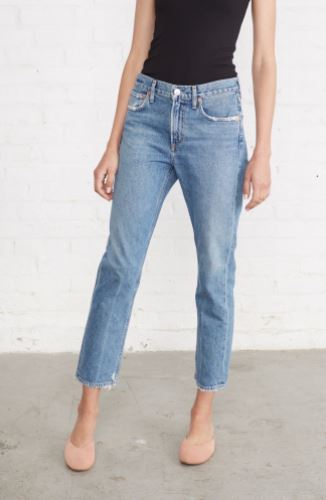AGOLDE Cigarette Jean, $168 from Amour Vert, Photo Cred Amour Vert