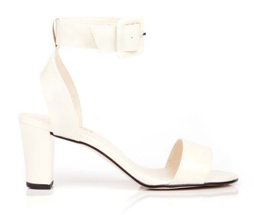 Beyond Skin Cream Colette Sandals, $120, Photo Cred Beyond SKin