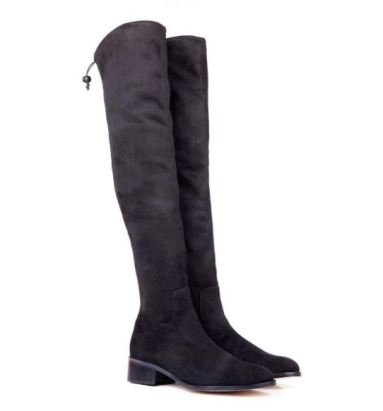 Beyond Skin Ronnie Black Stretch Boots, Pre-Order, £165, Photo Cred Beyond Skin