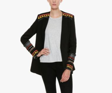 Bless The Mess Charming Blazer, on sale for 182€ from Alma Santa, Photo Cred Alma Santa
