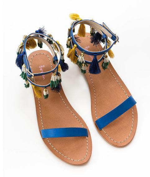 Boden Tassel Sandal, $130, Photo Cred Boden