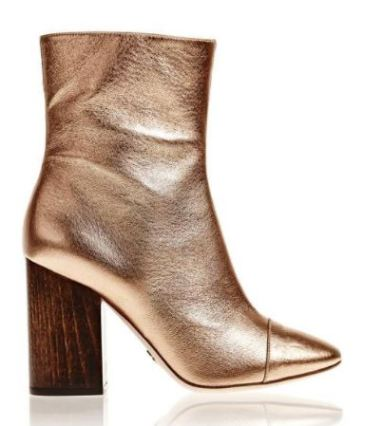 Brother Vellies Rose Gold Bianca Boot, $525, Photo Cred Brother Vellies
