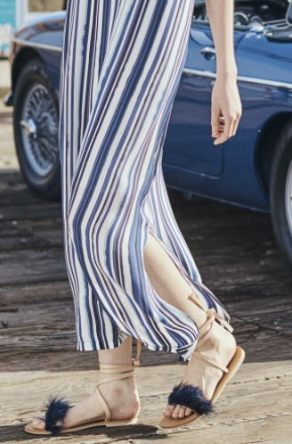 Charlotte Stone Yvonne Sandal, $225 from Amour Vert, Photo Cred Amour Vert