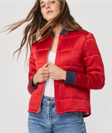 Christy Dawn The Chandler Jacket, on sale for $170, Photo Cred Christy Dawn
