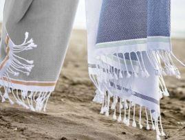 Coyuchi Mediterranean Beach Towel, $68, Photo Cred Coyuchi