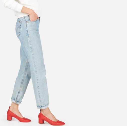 Everlane The Day Heel, $145, Photo Cred Everlane