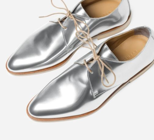 Everlane The E2 Shine Modern Oxford, $185 from Everlane