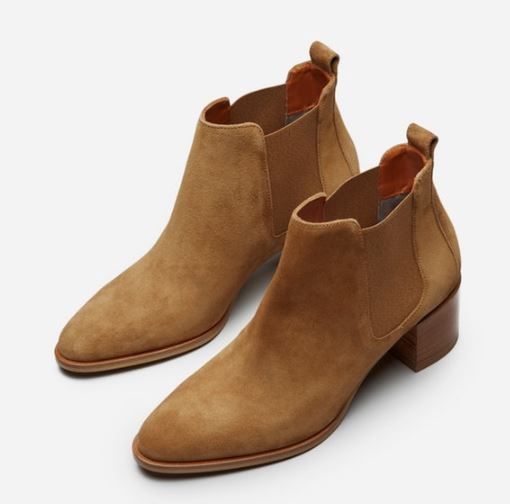 Everlane The Suede Heel Boot, $225, Photo Cred Everlane