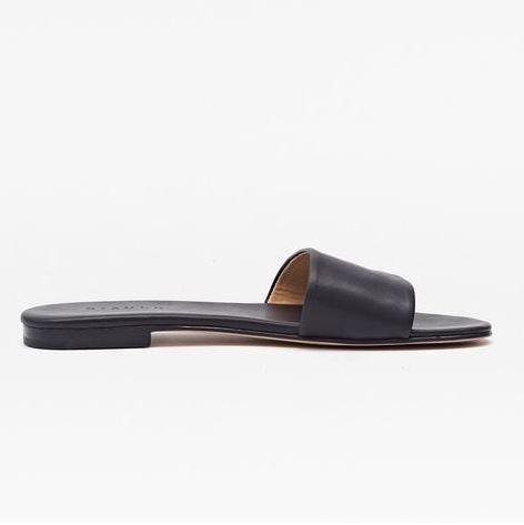 Nisolo Isla Slide Sandal Noir, $88, Photo Cred Nisolo