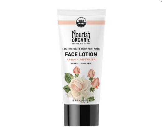 Nourish Organic Lightweight Moisturizing Face Lotion, 1.7 oz., $15.99, Photo Cred Target