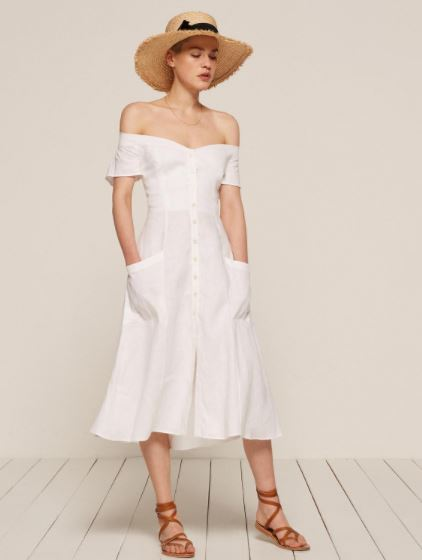 Reformation Mariposa Dress, $198, Photo Cred Reformation
