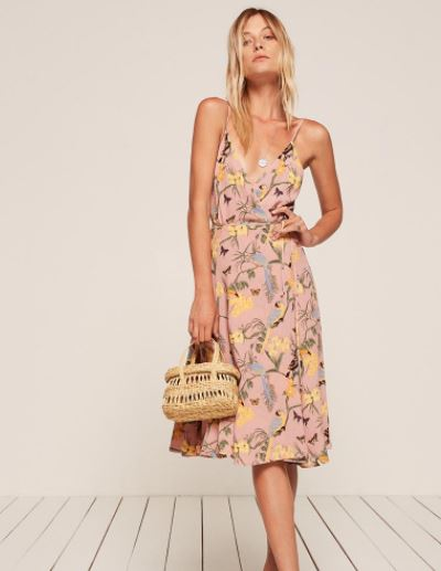 Reformation Temple Dress, $218, Photo Cred Reformation