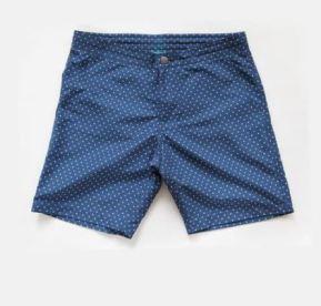 Riz Braunton Swim Shorts in Polka Dot, £95, Photo Cred Riz Boardshorts