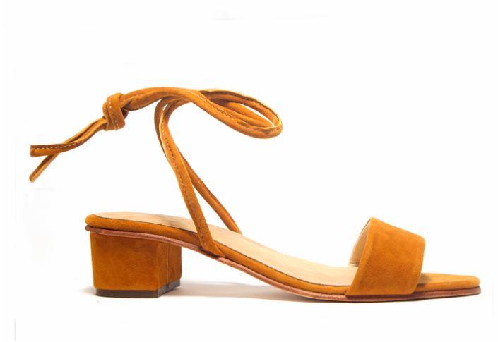 ZouXou Anaise Ankle Tie Sandal, $218, Photo Cred ZouXou