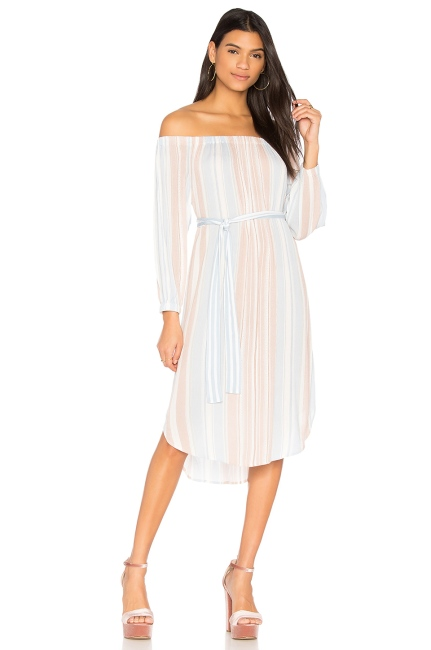 AG Adriano Goldschmied Michelle Dress in Pale Terracotta Multi, $198 from REVOLVE