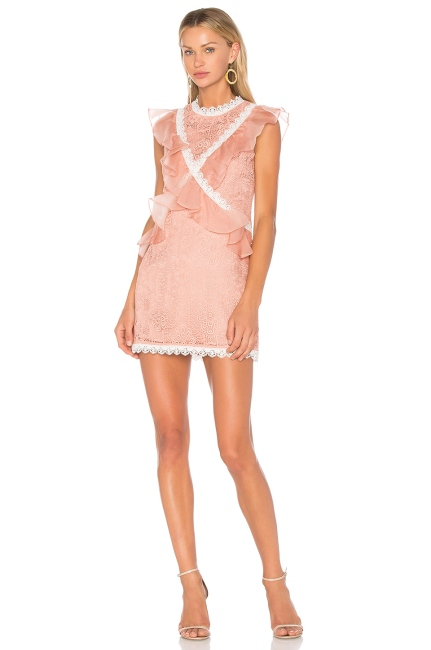 Amur Phoebe Dress in Nude, $495 from REVOLVE