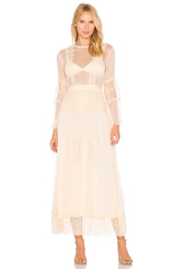 Cleobella Vienna Maxi Dress in Cream, $253 from REVOLVE