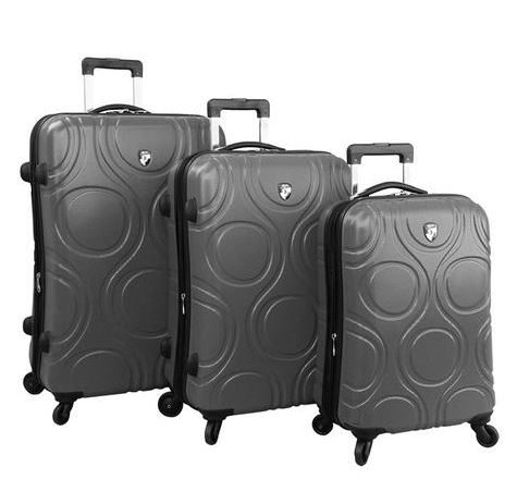 Eco Orbis Spinner Luggage, Photo Cred Heys