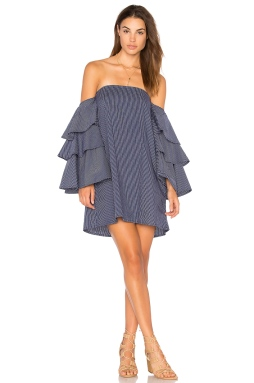 Faithfull the Brand Phi Phi Dress In Hudson Stripe Print, $169 from REVOLVE