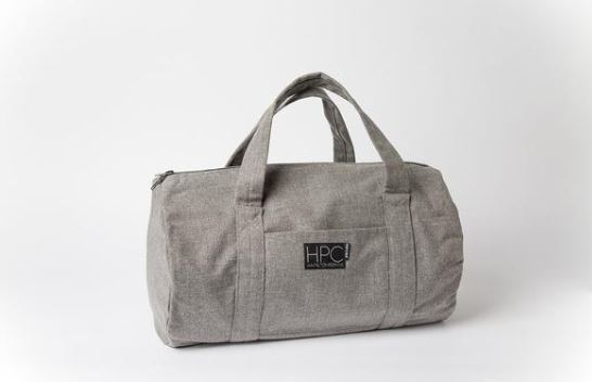Hamilton Perkins Earth Bag Lite, Cool Gray, Photo Cred Hamilton Perkins