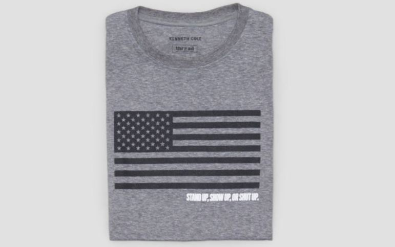 Kenneth Cole Rock the Vote Tee, Photo Cred Kenneth Cole