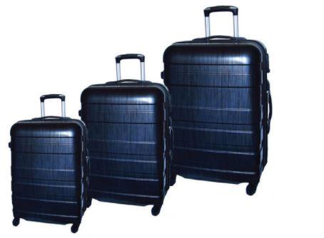 McBrine Luggage 3 Pc Eco Friendly Luggage Set