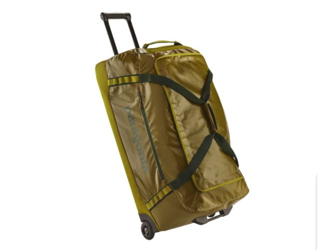 Patagonia Black Hole Wheeled Duffel Bag 120L, Photo Cred Patagonia