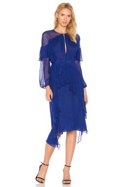 Rachel Comey Treason Dress in Cobalt, $649 from REVOLVE